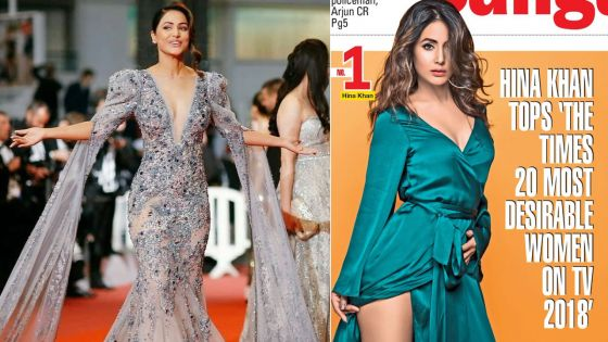 The Times 20 «Most Desirable Women» de la télé : Hina Khan devance toutes les actrices