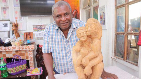 Sculpture mauricienne saluée au niveau mondial : l'homme qui parle au bois veut tout léguer en héritage