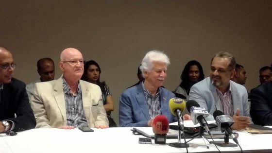 Conférence de presse du MMM : Paul Bérenger souhaite la dissolution du Parlement avant le 22 décembre