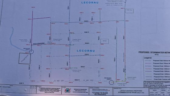 Sainte-Croix : Rs 140 millions déboursées pour la construction des drains