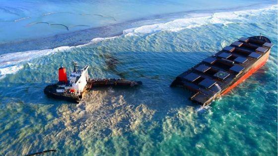 Selon le rapport préliminaire de l'Autorité maritime du Panama : «Des failles et négligences» de l'équipage du Wakashio