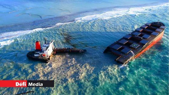 Parlement : le naufrage du MV Wakashio au coeur de la PNQ