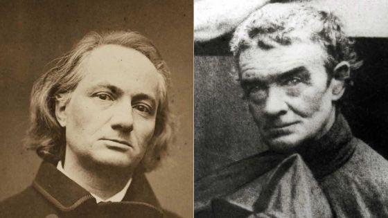 Charles Baudelaire et Père Jacques Désiré Laval