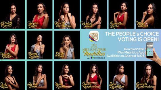 Grande finale de Miss Universe Mauritius 2019 : une application mobile pour voter pour la candidate de votre choix