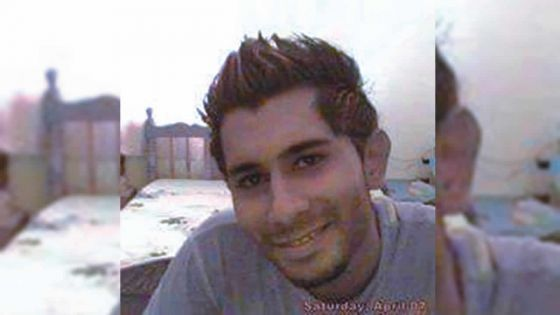 Ilshaad Callikhan meurt après un freinage de 75 mètres
