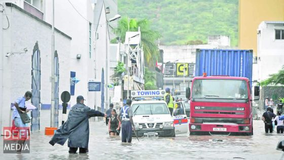 Mauritius under the threat of climate change
