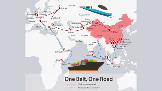 New Silk Road : stronger Chinese Economic and Diplomatic Influence