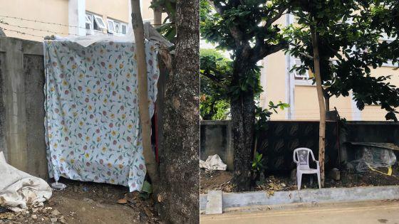 À Mahébourg: l'histoire d'un Bangladaisvivant dans une boîte