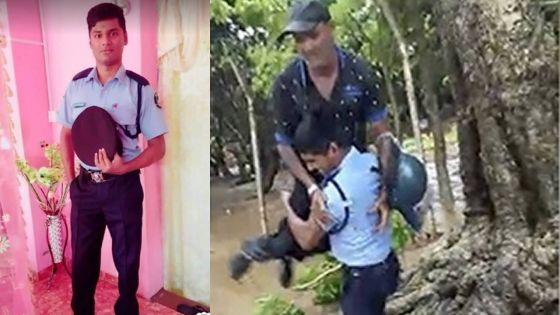 Inondations à Mont-Goût - Kessen Rengasamy : un policier au grand cœur