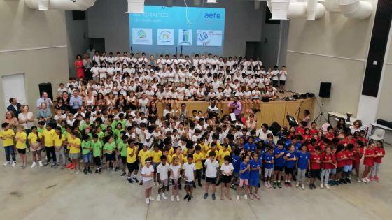 Au Lycée des Mascareignes : les Koral'îles accueillent 300 élèves de CE2