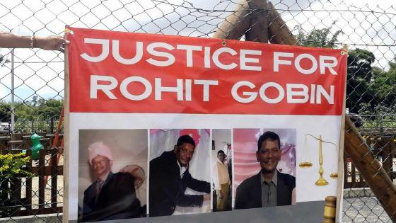 Marche pacifique pour Rohit Gobin -Le filsdu défunt: «Je ne fais pas confiance à la police»