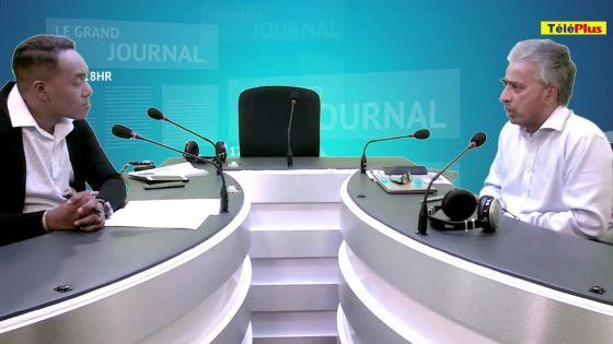 Arvin Boolell commente les sujets d'actualité sur Radio Plus