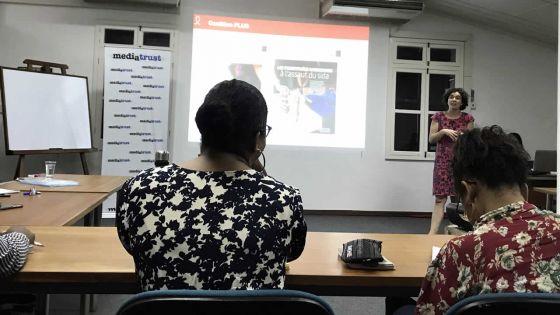 Workshop au Media Trust -Nicolas Ritter de PILS : «Nous avons 400 nouveaux cas par an»