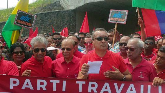 Manifestation du Ptr à Moka : Ramgoolam évoque la «privatisation» de la MBC