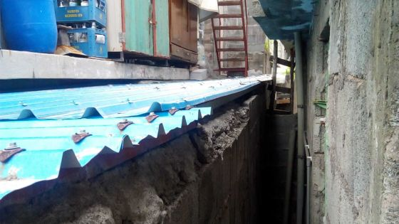 Construction illégale : un mur érigé pendant son absence