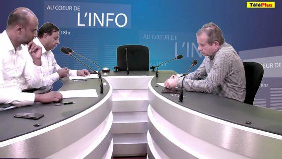 Jean-Mée Desvaux l'invité de l'émission Au Coeur de l'Info