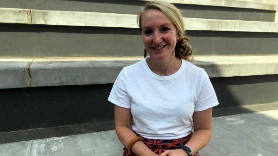 Angie Schaffer du Goucher College : «L'objectif était de se familiariser aux pratiques pédagogiques africaines»