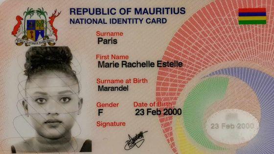 Rachelle : «Ma carte d'identité porte la signature d'une autre personne»