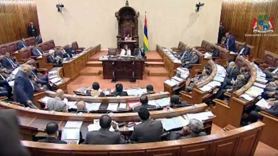 Political Financing Bill : confusion au moment du vote