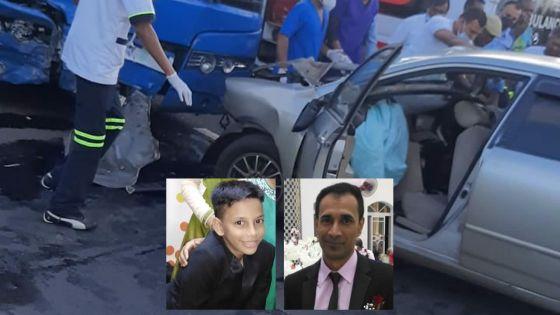 Accident tragique à Quartier-Militaire : père et fils unis dans la mort