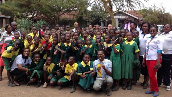 Visite en terre kenyane - Ruben Centre : une oasis au milieu de la misère noire