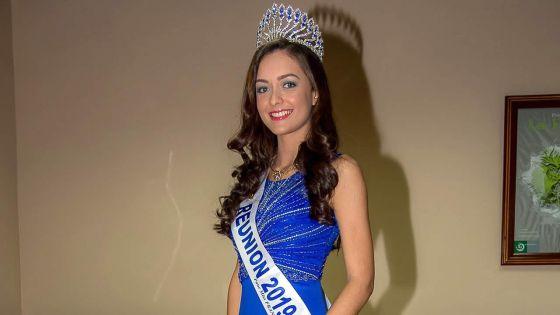 Morgane Lebon -Miss Réunion 2019 :«Je me suis redécouverte»