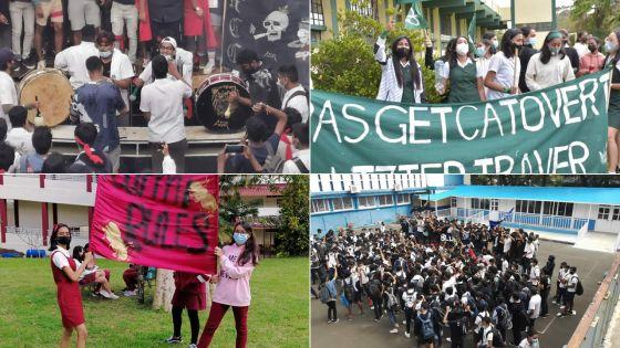 Ambiance palpable dans plusieurs collèges