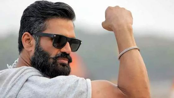 Suniel Shetty dans un film de Hollywood