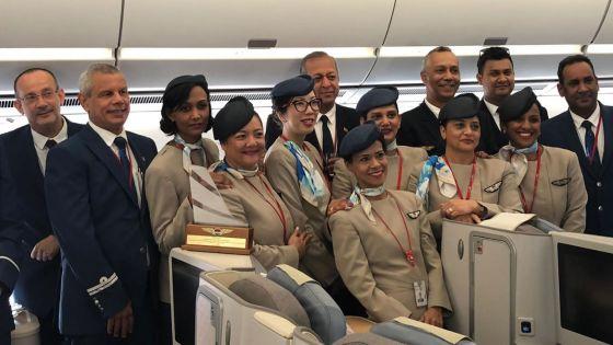 Air Mauritius : le dernier vol ducommandant Pramil Banymundhub
