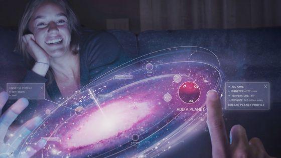Image : des chercheurs créent un hologramme qu'on peut voir, entendre et toucher
