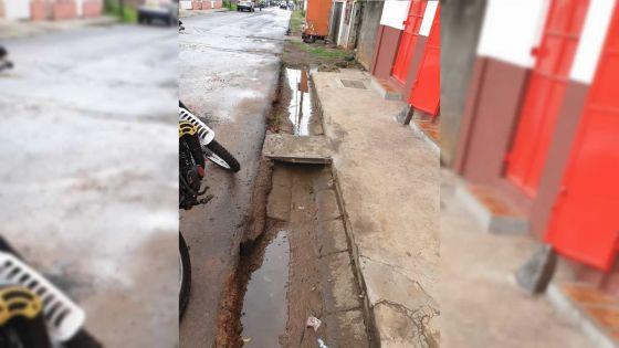 À Roche-Bois : le 'manhole' réparé
