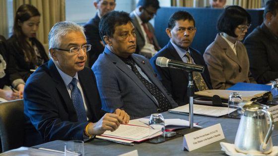 Pravind Jugnauth à Londres : «L'économie mauricienne est très diversifiée et offre des opportunités d'investissement »