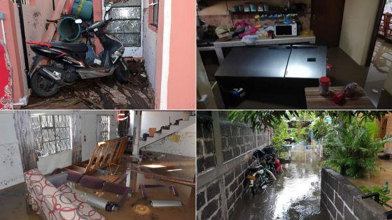 Dimanche pluvieux : le pays sous les eaux