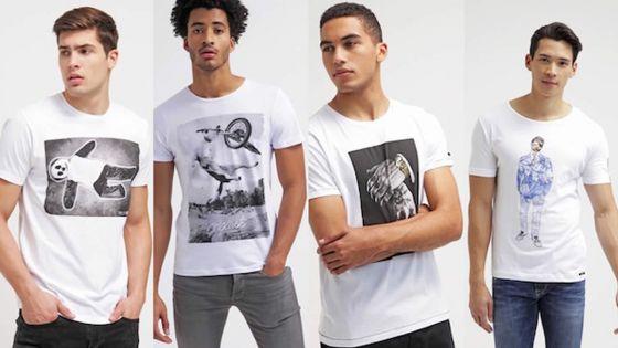 Le t-shirt imprimé : comment le porter