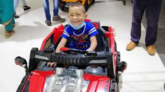 Malformation au coeur : la santé de Bless Junior s'est dégradée