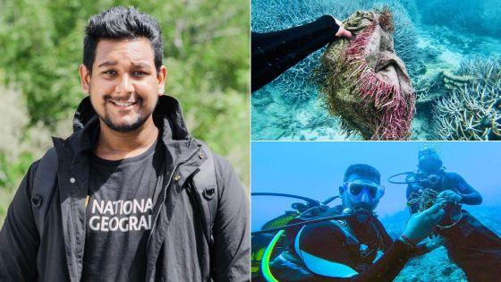 Prashant Mohesh : le premier Mauricien désigné National Geographic Young Explorer