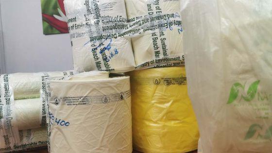 Vente illégale de produits non biodégradables : un trafic de sacs en plastiqueà usage unique mis au jour