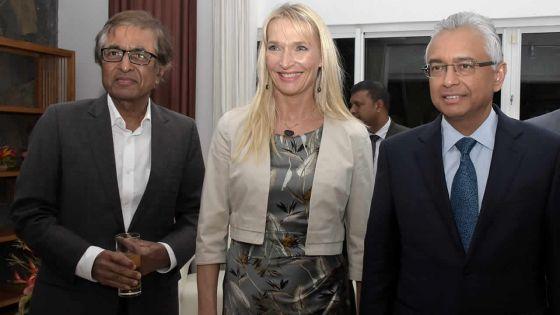 'Fairwell party' à la résidence de l'ambassadrice de l'UE : Marjaana Sall plaide pour l'introduction du Children's Bill