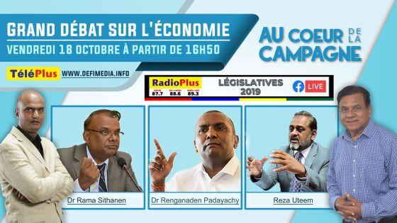 Législatives 2019 : Grand Débat sur l'Economie