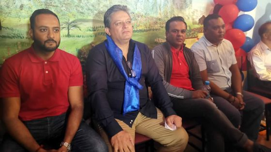 Réunion de l'Alliance nationale à Plaine-Magnien -Ritish Ramful:«Serenity Gate enn skandal plis ki MedPoint sa»