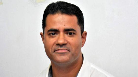 Fabrice David, candidat du PTr :«Un politicien doit êtrele véhicule de ses idées»