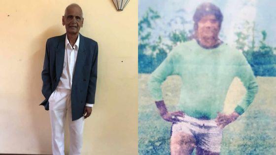 Portrait : Rajen Sewocksingh, 75 ans,et footballeur des Hindu Cadets
