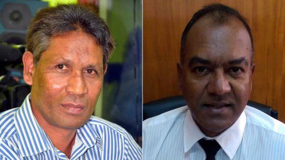 Jaylall Boojhawon et Shiva Coothen