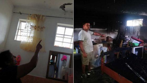 Deux maisons frappées par la foudre - Ravi Groodoyal : «Nous n'avons jamais eu aussi peur de notre vie»
