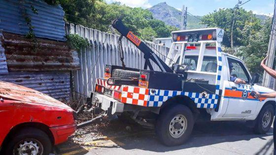 Police de l'environnement -Rue obstruée : les véhicules abandonnés enlevés
