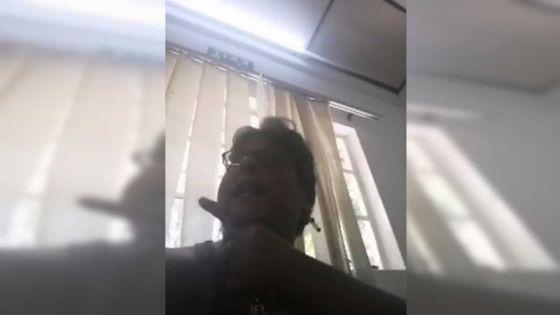 Agression diffusée en live sur le Net : Aruna Gangoosingh à un officier : « Mo pou demont twa zordi »