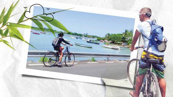 À Mahébourg : en selle pour un voyage itinérant…