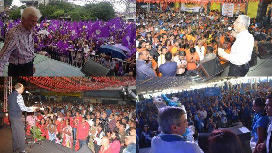 La guerre des foules : un 1er-Mai crucial avant les élections