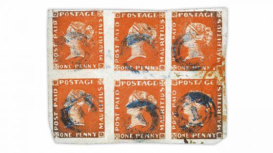 Philatélie : des timbres mauriciens évaluésà Rs 5 millions mis aux enchères
