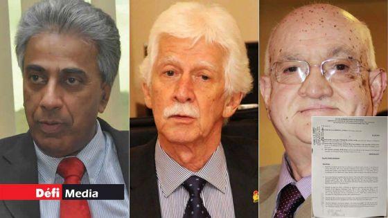 Suspendus des travaux parlementaires : Boolell, Bérenger et Bhagwan s'en remettent à la justice